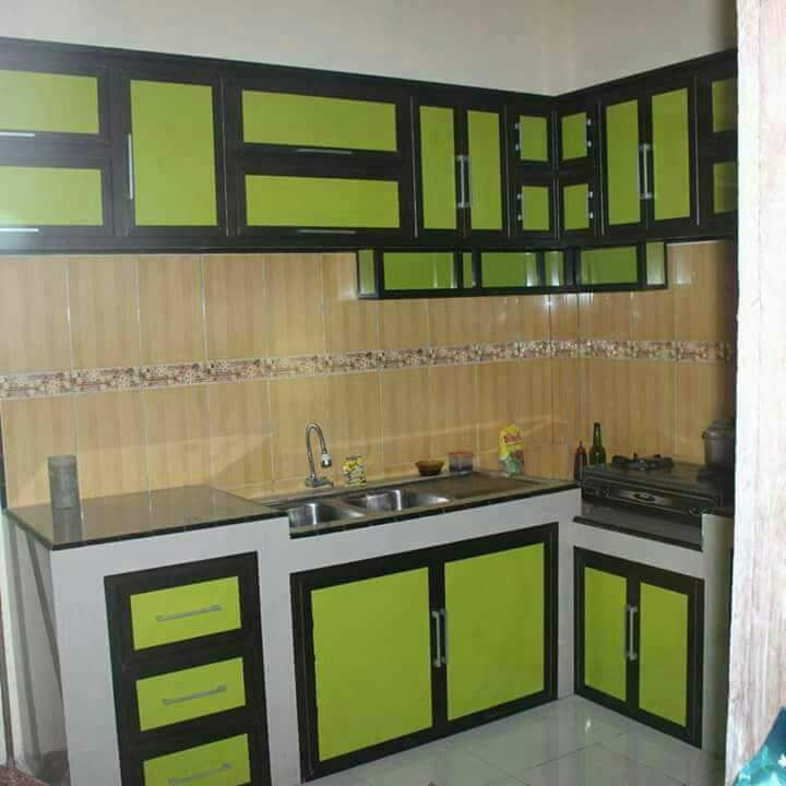 Kitchen Set Aluminium Putih Lasopafolio